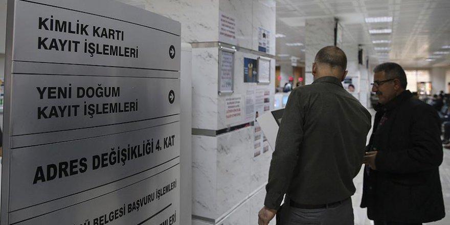 Seçim öncesi nüfus müdürlüklerinde yoğunluk