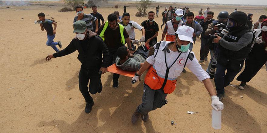 İşgalci İsrail ve Trump Filistinli öldürmeye başladı: 41 şehit