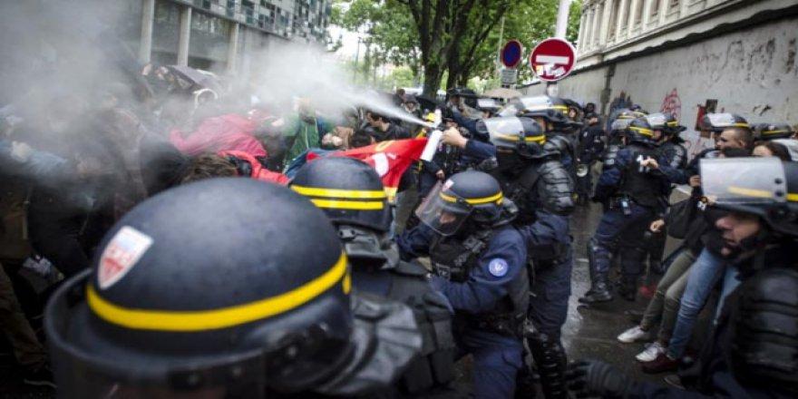 Fransız polisi bir üniversiteye operasyon düzenledi
