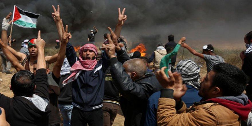 Filistinlilerden Twitter kampanyası