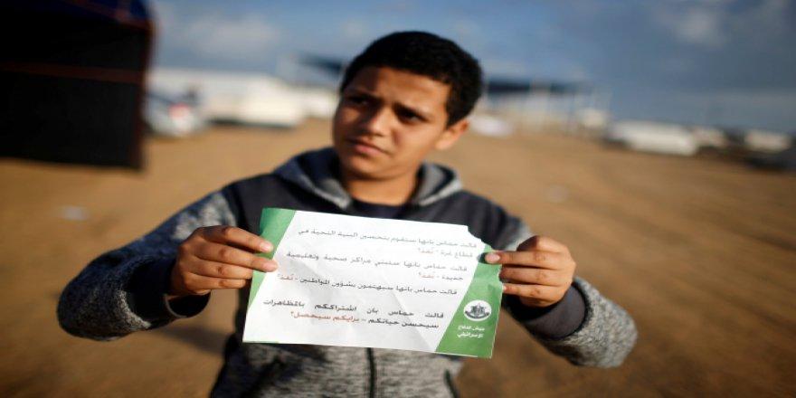İsrail, Filistinlilere gerçek mermilerle saldırdı: 37 şehit