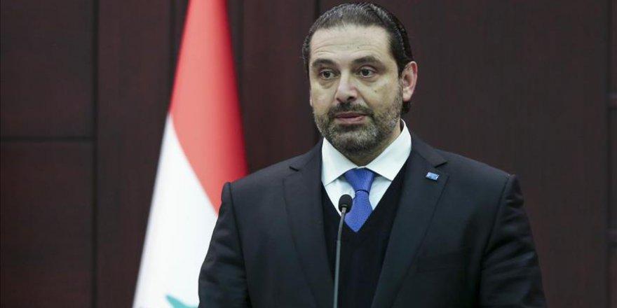 Hariri'den ABD'ye sert sözler