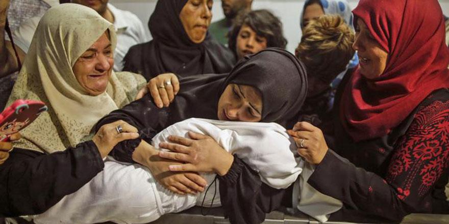 Terör devleti İsrail, 8 aylık Leyla bebeği bile öldürdü
