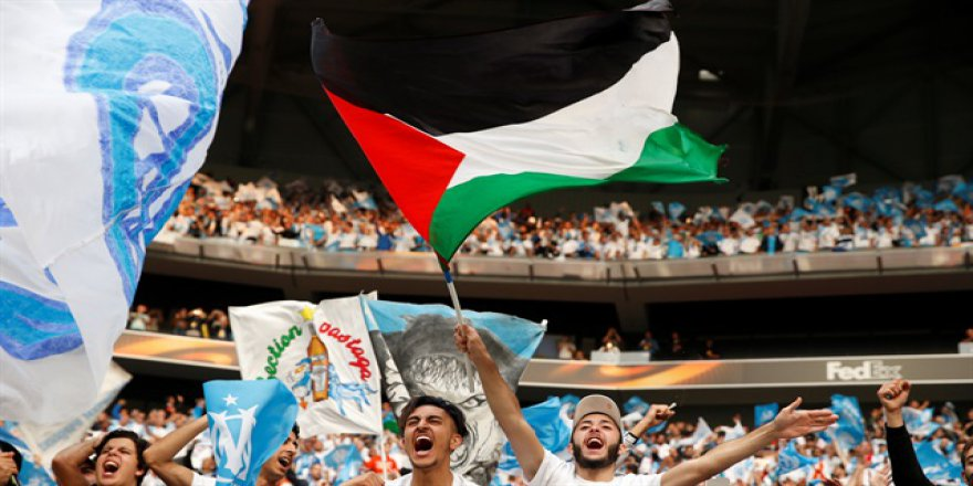 İşgalci İsrail, UEFA Finali'nde de tepki gördü