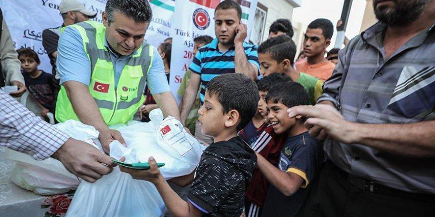 TİKA'dan Gazzelilere iftar desteği