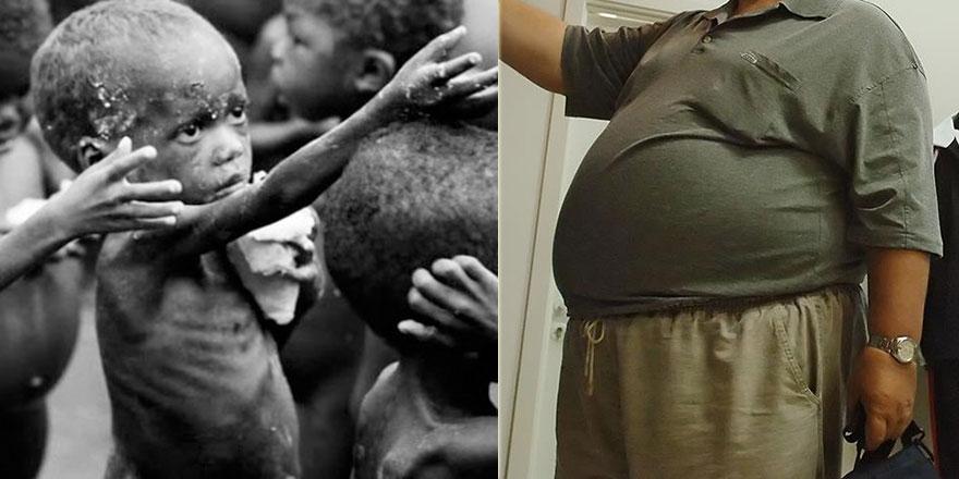 Dünyada 821 milyon kişi aç, 672 milyon kişi obez