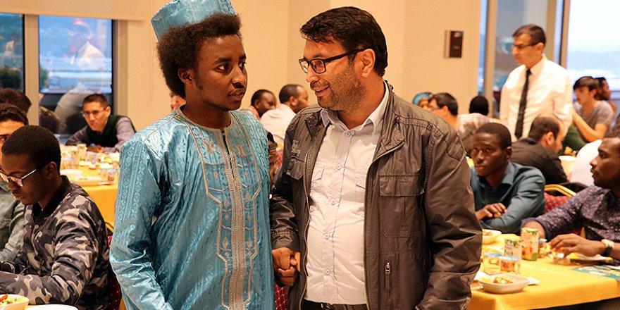 Kayseri'deki yabancı öğrenciler iftarda buluştu