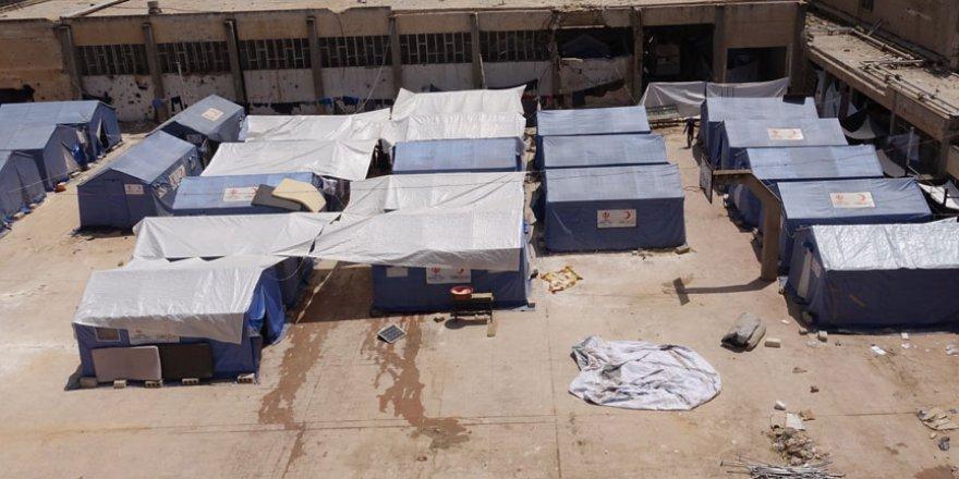 Suriye'nin Humus şehrindeki sığınmacıların yardım çığlığı