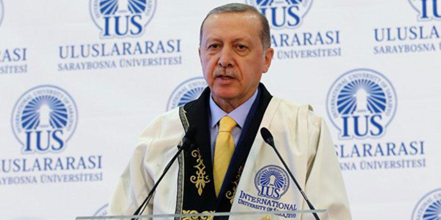 Cumhurbaşkanı Erdoğan: Zalimler için yaşasın cehennem