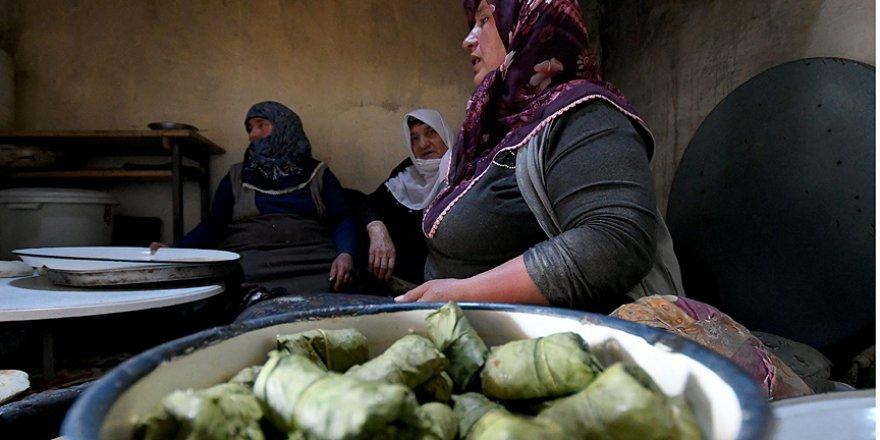 Kars'ta Ramazan sofraları imece lezzetler ile süsleniyor
