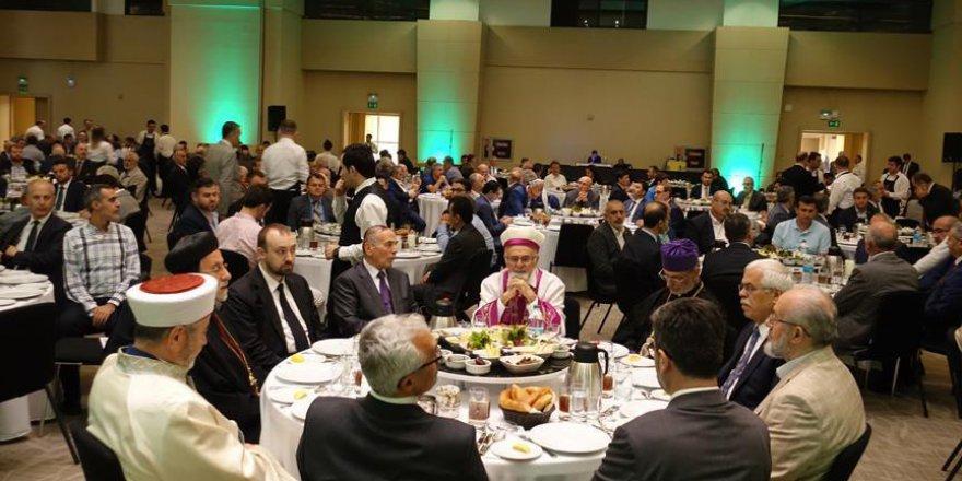 Semavi din temsilcileri İstanbul'da yapılan iftarda buluştu