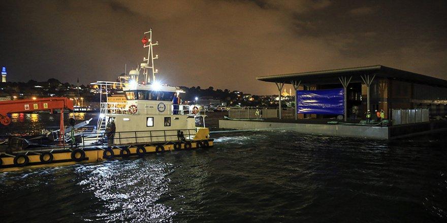 Beklenen Karaköy İskelesi açılmak üzere