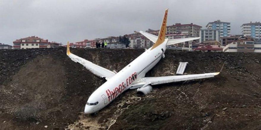 Trabzon'da pistten çıkan uçak kütüphane oluyor