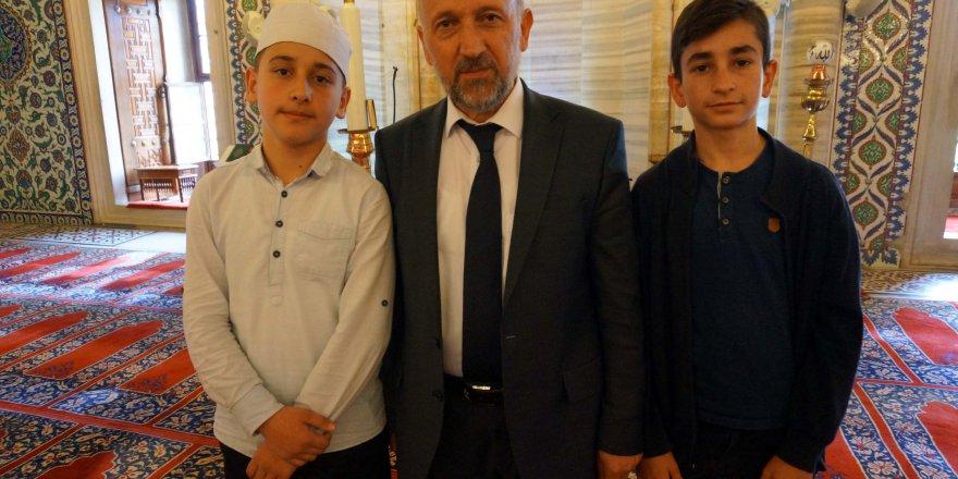 Selimiye'nin genç hafızları mukabele geleneğini sürdürüyor