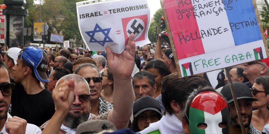 Fransa'da Netanyahu tepkisi