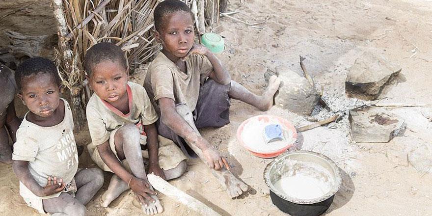 800 milyondan fazla kişi aç, 39 ülke yardım alıyor