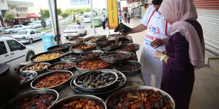 Şanlıurfa'da iftar yemekleri fırıncılara emanet