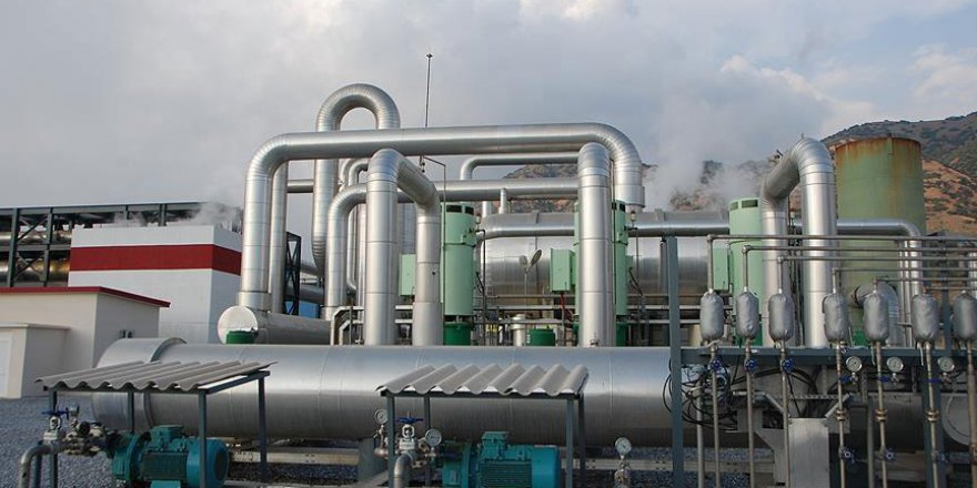 Jeotermalden elektrik üretiminde ilk 4 ayda yüzde 35 artış