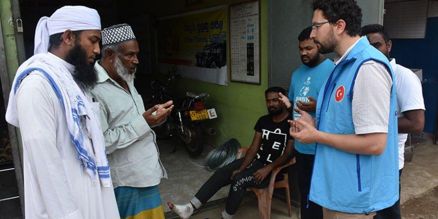 Diyanet Vakfı, Sri Lanka Müslümanlarının yaralarını saracak