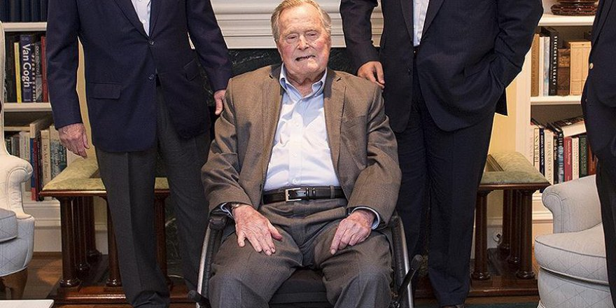 'Baba' Bush hastaneye kaldırıldı