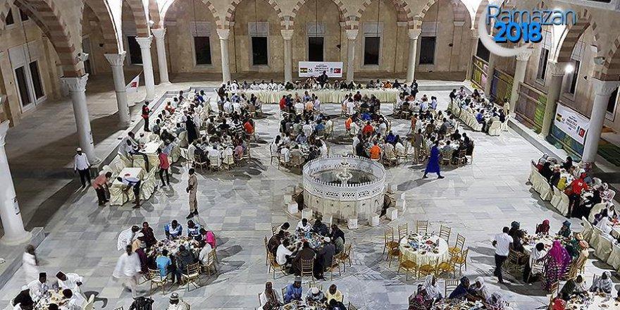 Ganalıların iftar yemekleri Türkiye'den