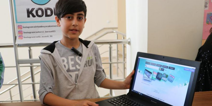 Siirt'te Çocuk Üniversitesi Projesi uygulanıyor