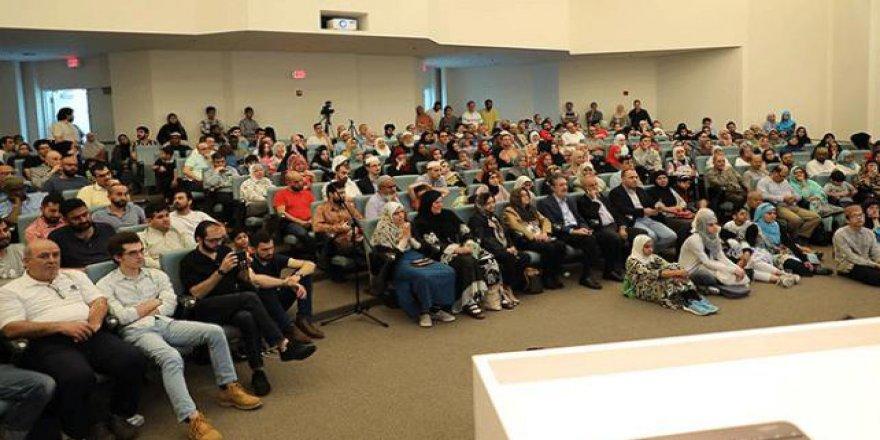 Amerikalı Müslümanlar Diyanet Merkezi'nin iftarında buluştu