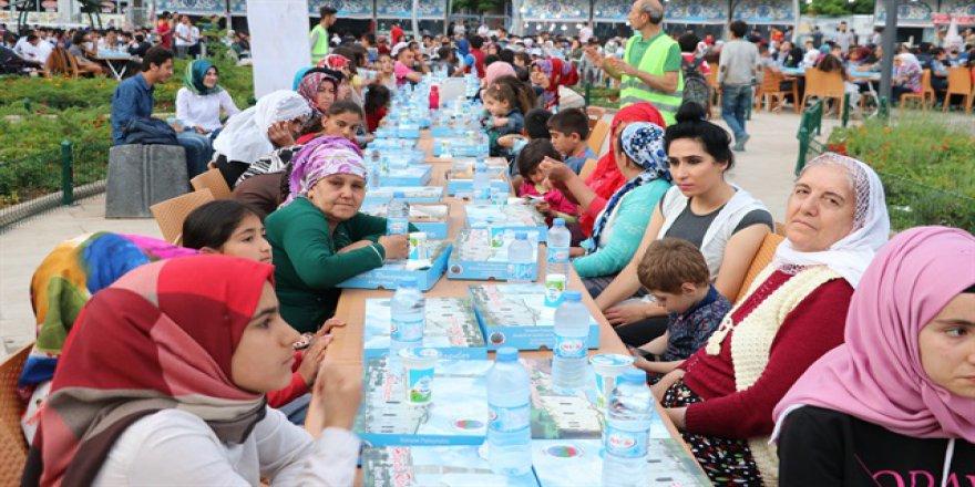 Mavi Marmara şehidi anısına iftar verildi