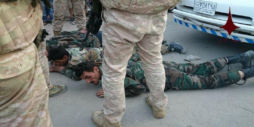 Rejim askerleri yağma yaptı, Ruslar gözaltına aldı