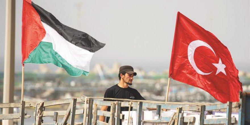 Türkiye, Gazze'ye destek çıkıyor