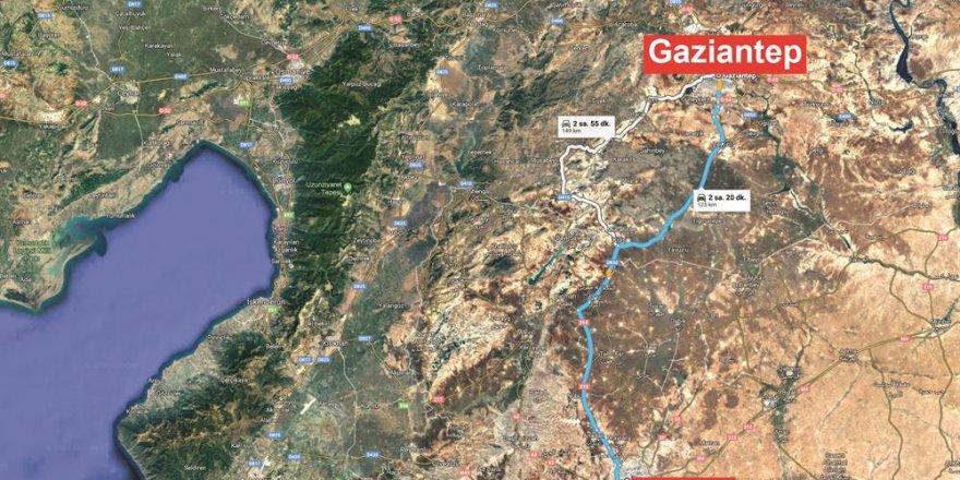 Antep-Halep yolu açılacak