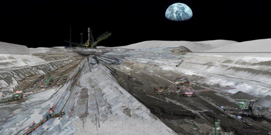 Ay'da sanayi bölgesi kuracaklar