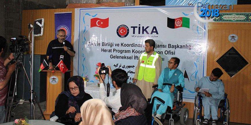 TİKA, Afganistan'daki engellilere iftar verdi