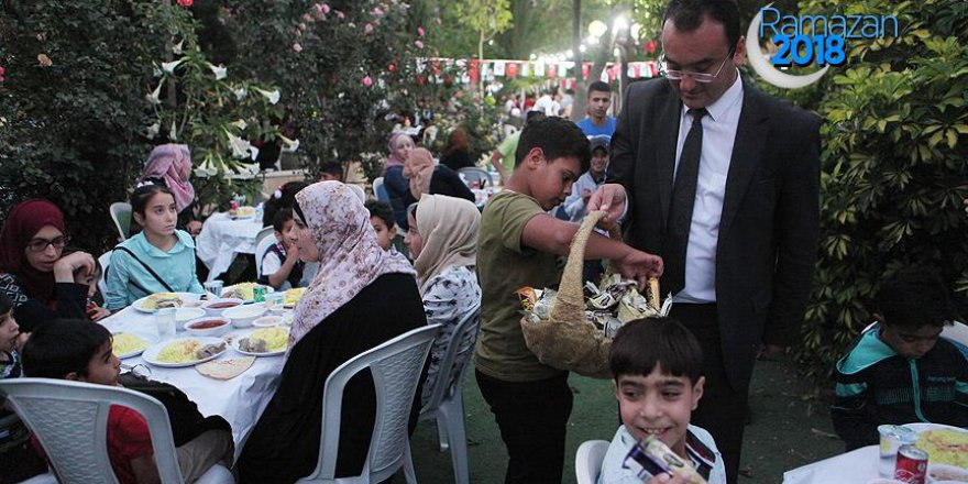 TİKA, Batı Şeria'da iftar verdi