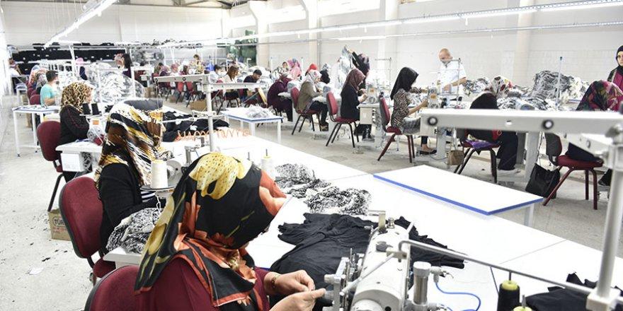 Devlet desteğiyle kurulan fabrika ilçenin yüzünü güldürdü