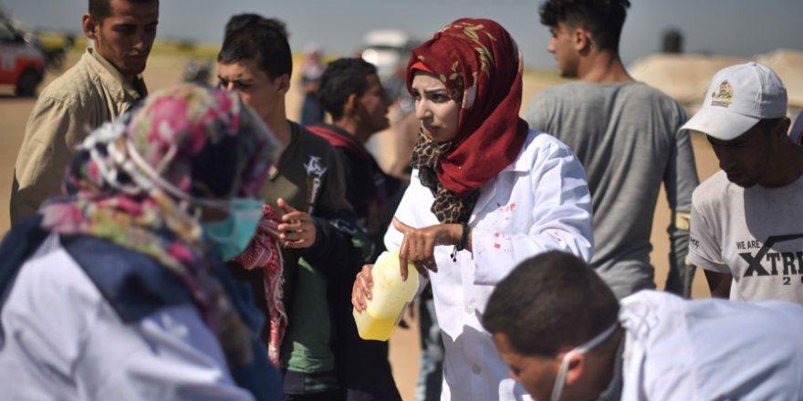 Gazze'nin gönüllü hemşiresi şehit oldu