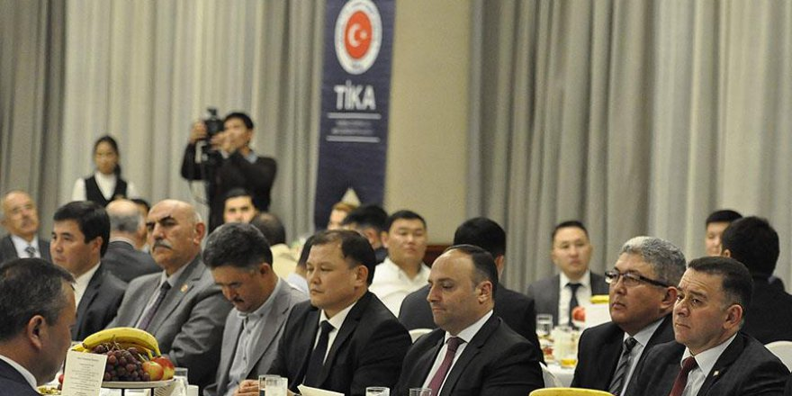 TİKA'dan Kazakistan'da iftar programı