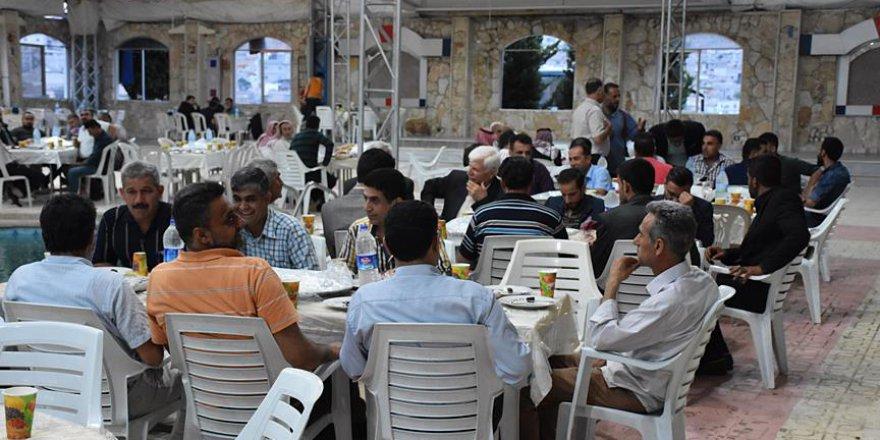 Afrin'de Arap, Kürt ve Türkmen aşiretler kardeşlik iftarında buluştu
