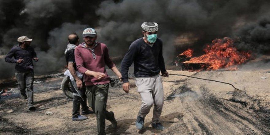 Gazze'de 30 Mart'tan beri 123 şehit