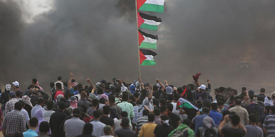 İşgalci İsrail 40 Filistinliyi yaraladı