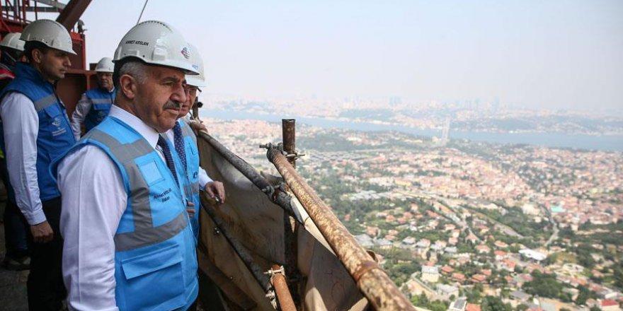 Çamlıca Kulesi İstanbul'un turizm merkezlerinden biri olacak