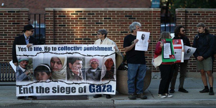 ABD'de şok İsrail protestosu