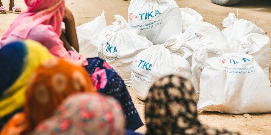 TİKA, Moritanya'ya yardıma koştu