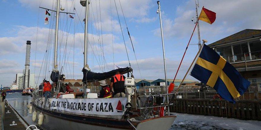 'Gazze'ye Özgürlük Filosu' Avrupa'yı geziyor