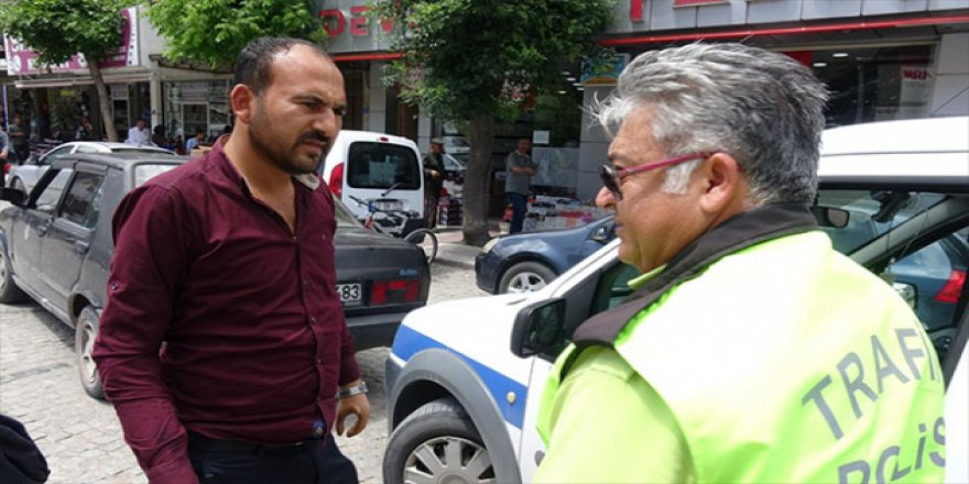 Protez ellerle ve ehliyetsiz araç kullanan sürücüye ceza
