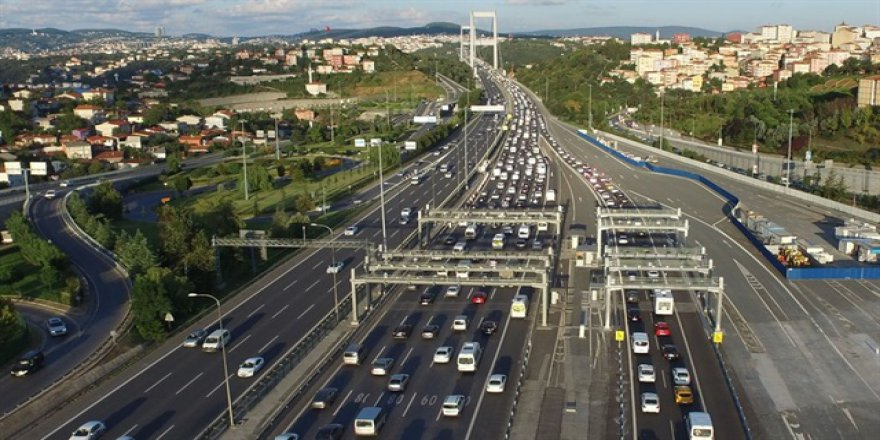 Fatih Sultan Mehmet köprüsünde 50 gün 4 şerit kapatılacak