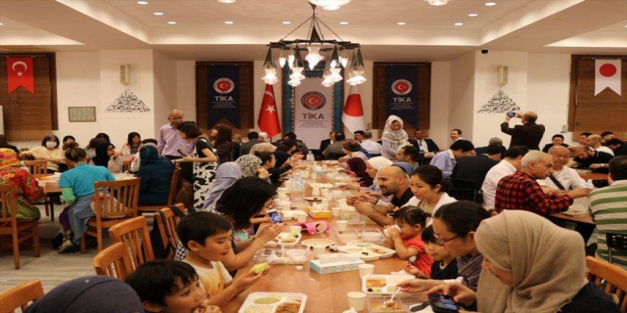 TİKA Japonya'da ilk kez iftar sofrası kurdu
