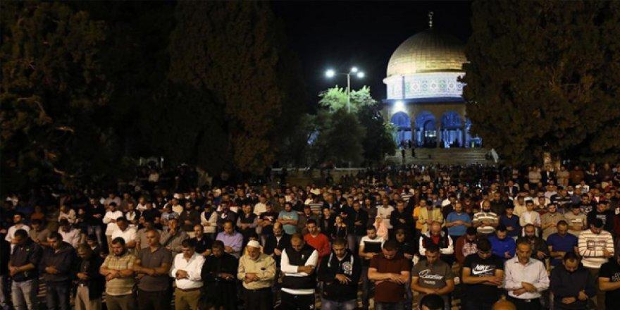 Ramazan'da 3 milyondan fazla Müslüman Mescid-i Aksa'daydı