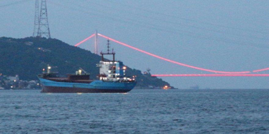 İstanbul Boğazı'nda gemi arızası ucuz atlatıldı