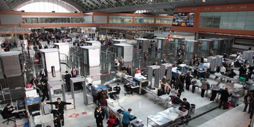 İstanbul havalimanlarında yolcu sayısı 161 ülkenin nüfusunu geçti